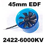 ducted fan brushless - Mystery EDF Plus HL4508 2422-6000KV Brushless Motor 45mm EDF Ducted Fan Power System