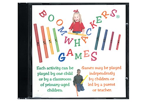 Price comparison product image Boomwhackers Games CD For Kids