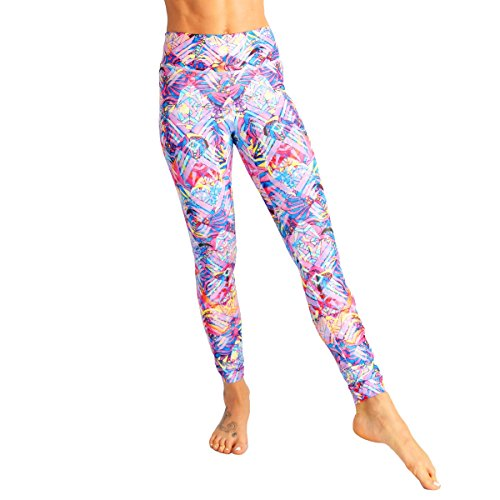 0a732512db8d5 MONASITA Womens Candycrush Yoga Pants Soft Gym Leggings for Water Sports  Surf Swim (Small)
