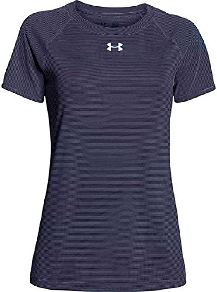 6d1ae0c86 Amazon.com: Under Armour Womens Stripe Tech Locker S/S Tshirt ...