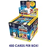 2017-18 TOPPS CHAMPIONS LEAGUE MATCH ATTAX 50 PACK BOX (450 CARDS) DO NOT CONFUSE WITH SMALLER 300 CARD BOXES! LOOK FOR MESSI, NEYMAR, RONALDO,POGBA,PULISIC & MORE! **SHIPS FROM USA**