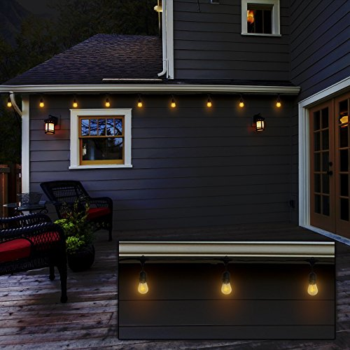 outdoor indoor edison style string lights commercial. Black Bedroom Furniture Sets. Home Design Ideas