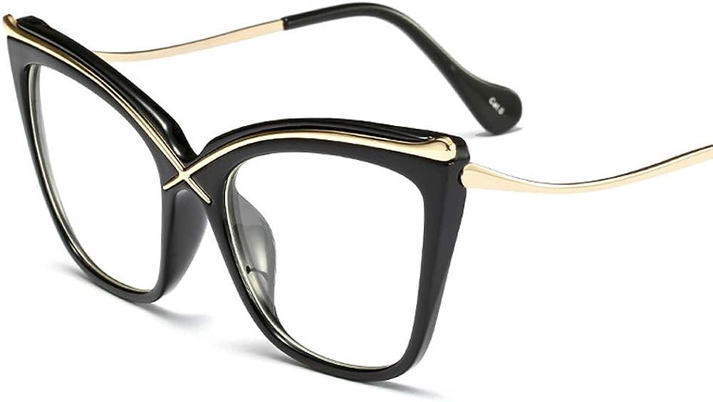 Cat Eye Eyeglasses Frames Women Luxury Transparent Glasses Female Accessories