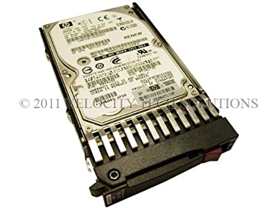 "HP 507284-001 Proliant 300GB 10K 2.5"" 6Gbps Dual Port in Tray SAS Hard Drive"