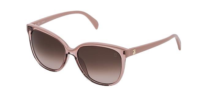 Tous Mujer n/a Gafas de sol, Transparente (Shiny Transparent ...