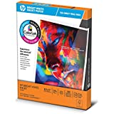 HP Printer Paper, BrightWhite24 Trial Pack, 8.5 x 11, Letter, 24lb, 97 Bright, 150 Sheets / 1 Pack, Made In The USA (203500R)