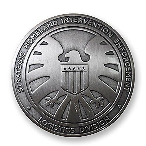 Logo Pin Badge - Yancos Agents of SHIELD Hawk Logo Badge Pin