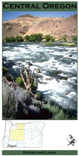 Central Oregon Fisheries 11x17 Fly Fishing Map