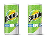 Bounty Select-A-Size, 2 x More Absorbent Paper Towels Roll, 11 x 5.9-Inches, White (242 Sheets)