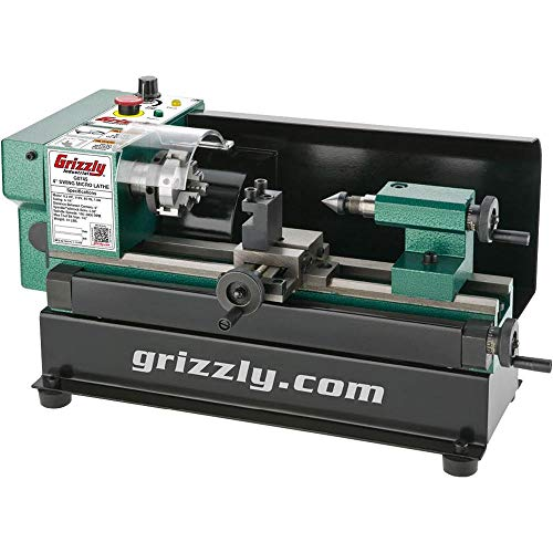 "Micro Metal Lathe, 4 x 6"" - Grizzly G0745"