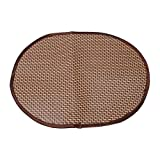 YDZN Dog Cat Mat,Oval 30×40cm,Summer Cooling Pet Supplies Sleeping Pad Cushion