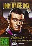 John Wayne Box (Kerle in Texas, Stagecoach) [Import allemand]