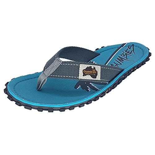 Gumbies Islander Canvas Flip-Flops - Mens - Twin Palms lRX4J7Y