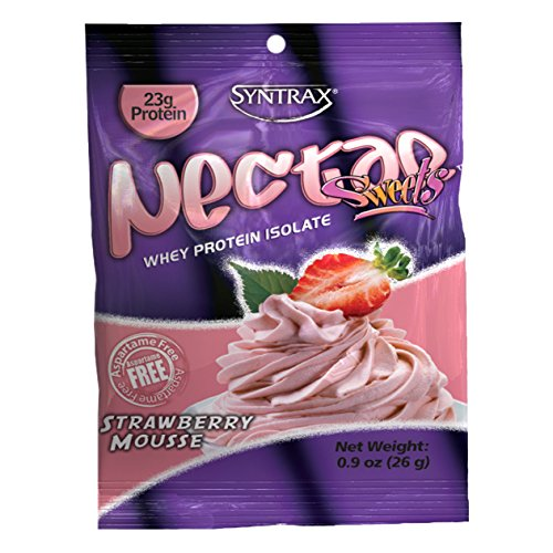 Syntrax Nectar Grab N#039 Go Strawberry Mousse Powder 26Grams