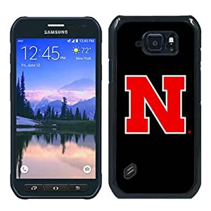 Ncaa Big Ten Conference Football Nebraska Cornhuskers 3 Black Recommended Picture Custom Samsung Galaxy S6 Active Case