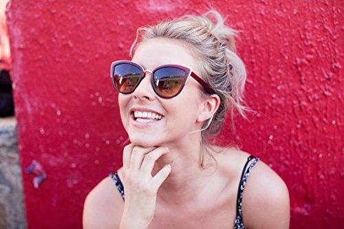 Lunettes de Lentilles Désigner soleil De Chat de Effet Femme Cheapass Miroir Ca Qualité Inspire Haute 006 tdPqnBxwX