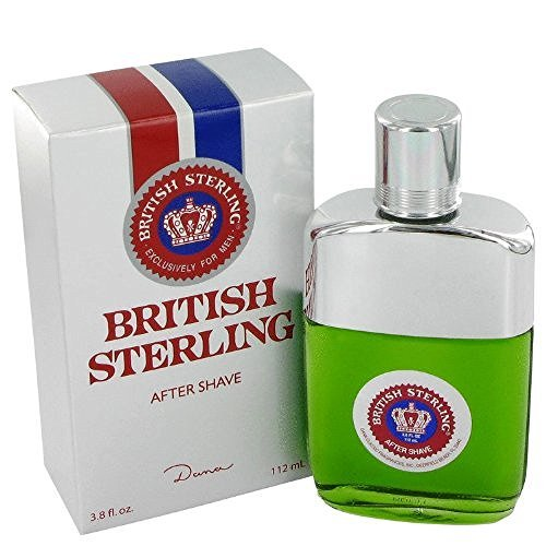 BRITISH STERLING by Dana Men's After Shave 3.8 oz - 100% Authentic