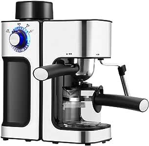 Cafetera/cafetera de diseño compacto, cafetera de goteo con cafetera de filtro permanente para el hogar, viajes, oficina, bar, hotel-Negro: Amazon.es: Hogar