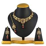 Ethnic Indian Artisan Jewelry Set Traditional designer Necklace SetMINE0108MA
