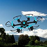Night Hawk 6-Rotor Drone with WiFi Camera and Voice Control