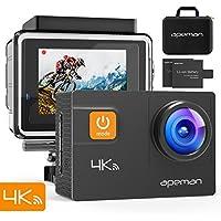 APEMAN Action Camera 4K 20MP WIFI Ultra HD Underwater...