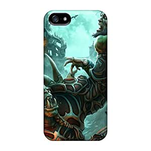 Diamondcase2006 Iphone 5/5s Hybrid Cases Covers Bumper World Of Warcraft Orc