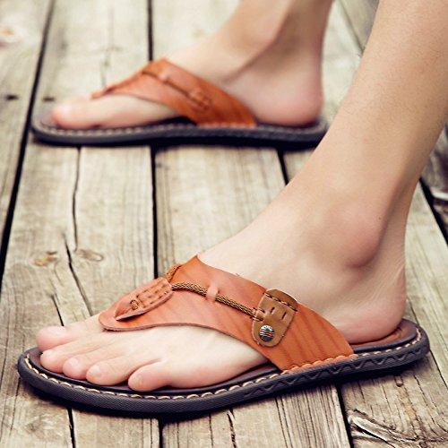 @Sandals @Sandals @Sandals Sommer Skid, Toe Clip, Herren, Legere Schuhe, Koreanische Hausschuhe, Große Größe Flip Flops.  098acc