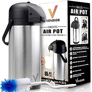 Amazon Com Airpot Coffee Dispenser With Pump Insulated
