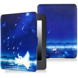 Case for kindle paperwhite-Original Design Case Skin with Auto Wake / Sleep for kindle paperwhite (Fits 2012, 2013, 2015 and 2016 Versions) (Moonlight)