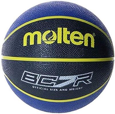 MOLTEN Balon Baloncesto BC7R2-KB Azul Negro Talla 7: Amazon.es ...