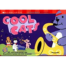Scholastic Phonics Reader Box Set: Cool Cats: 10 Fun Storybooks and 2 Activity Books For New Readers
