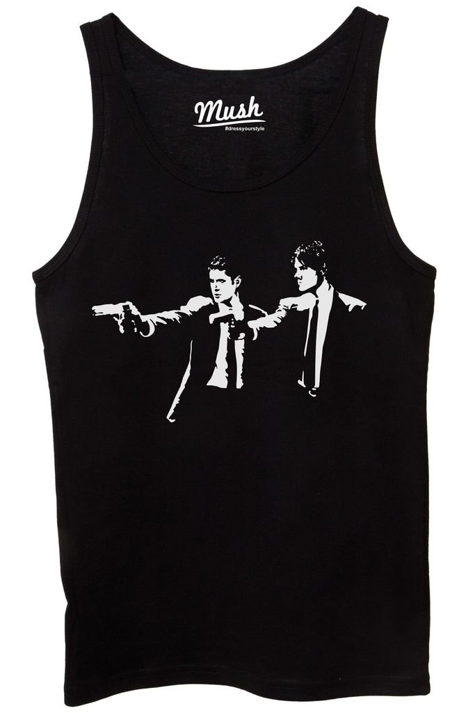 Film by Dress Your Style MUSH Canotta Supernatural Pulp Fiction