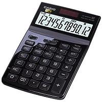 CASIO JW-200TW-BK 12-Digit Calculator GT Dual Power JW200TW Black /GENUINE