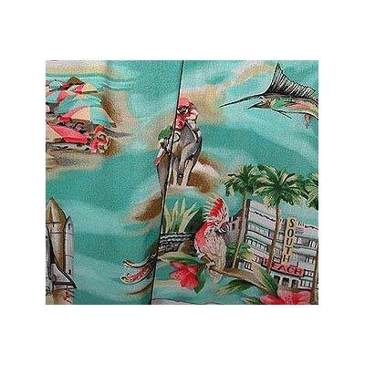 Capri Pants - Florida Women's Hawaiian Aloha Cropped Pants