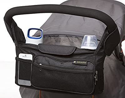SUMMER SALE! Stroller Organizer by Spark and Bee - BEST Quality Parent Console - Lifetime Warranty - FREE Ebook - Satisfaction Guaranteed - Perfect Baby Shower Gift and Jogger Accessory for Strollers