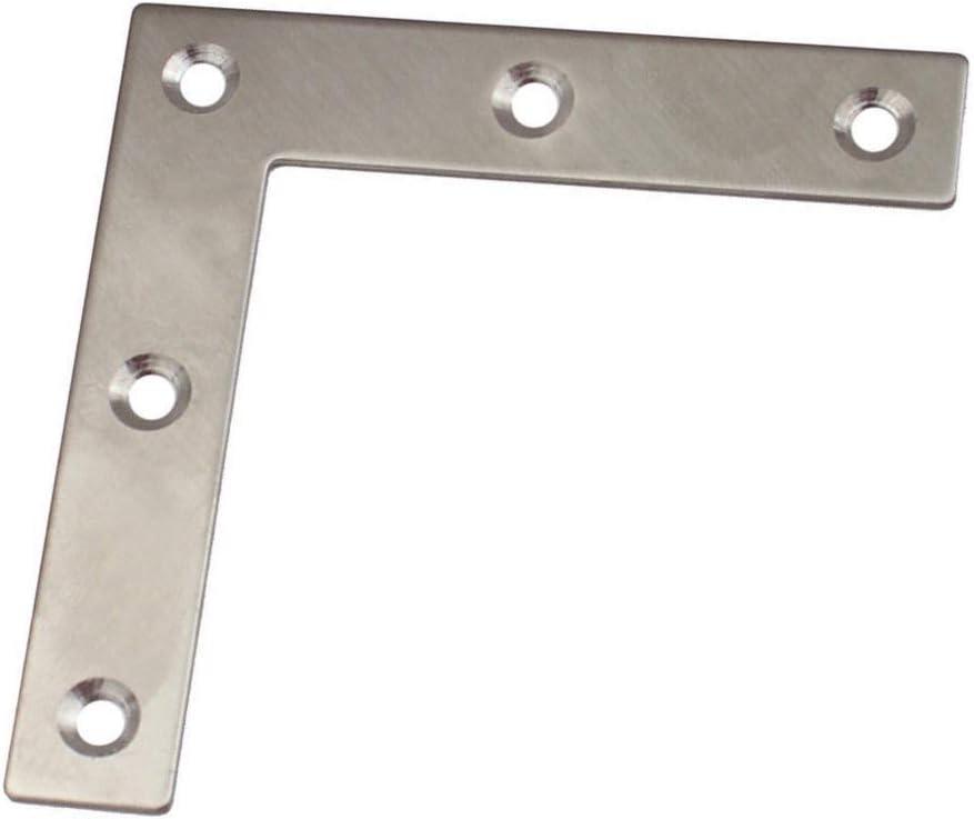 Massive Flachverbinder Beschläge Lochplatte Nagelplatte Holzverbinder Edelstahl