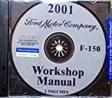 2001 Ford F-150 Truck & Pickup Factory Repair Shop Manual A Must For Owners & Restorers