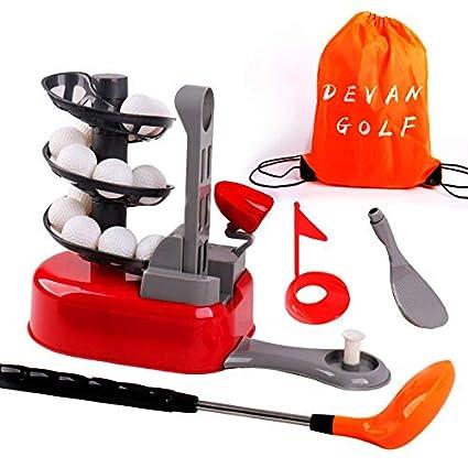 Amazon.com: DeVan Juego de juguetes de golf, juego de pelota ...
