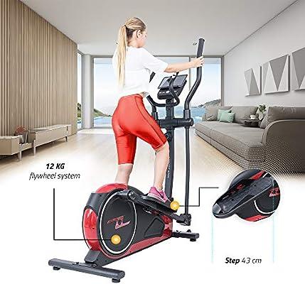 TechFit E700 Cross Trainer, Bicicleta Elíptica para Ejercicio en ...