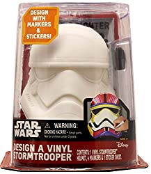 Star Wars Design A Vinyl Storm Trooper Play Set