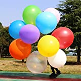 Big Balloon 36 Inch Latex Giant Balloon Large Balloons for Baby Shower/Photo Shoot/Birthday/Wedding Party/Festival/Event/Carnival/Christmas Decorations