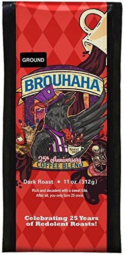 Raven's Brew 25th Anniversary Brouhaha Coffee Blend - 11 oz, Ground Coffee