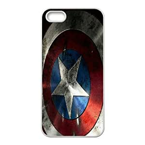 JenneySt Phone CaseSuper Hero Caption American For Apple Iphone 5 5S Cases -CASE-20