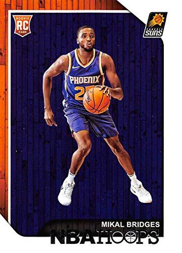 e5beca042c2 Amazon.com  2018-19 Panini Hoops  252 Mikal Bridges Phoenix Suns Basketball  Card  Collectibles   Fine Art