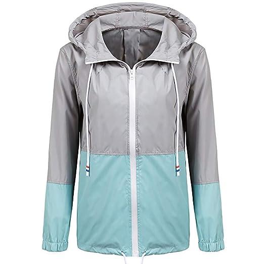 Amazon.com: VECDUO Womens Wind/Waterproof Rain Coat ...
