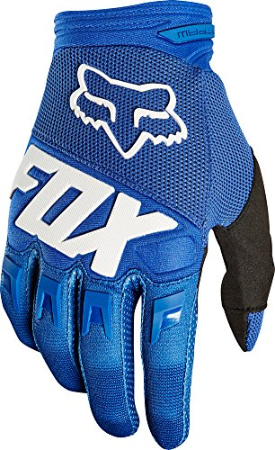 2018 Fox Racing Dirtpaw Race Gloves-Blue-L (Fox Racing Race)