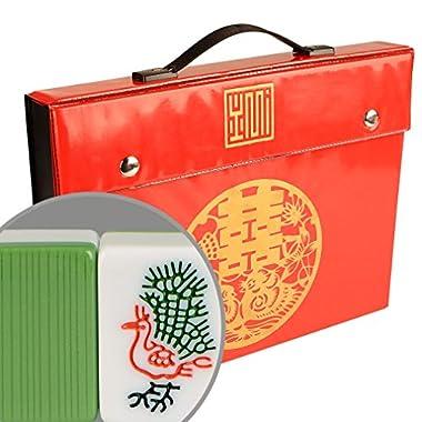 YMI Professional Chinese Mahjong / Mah-Jongg Game Set - Standard