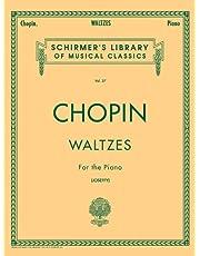 Valses: Schirmer Library of Classics Volume 27 Piano Solo