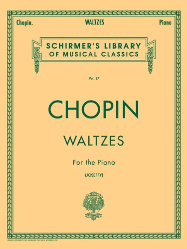 Frederic Chopin Sheet Music - Chopin: Waltzes For the Piano vol. 27