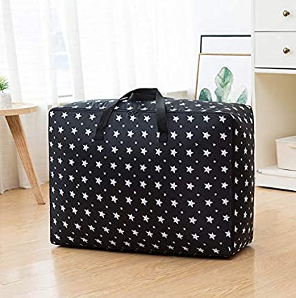 VuHom Large Storage Bags Seasonal Clothes,Comforters In Closet,Festival  Ornament Storage Container (